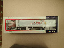 Corgi 1:50 Ltd Edn CC12419 Volvo FH Fridge Trailer Van der Kwaak MIB Untouched