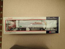 Corgi CC12419 VOLVO FH Fridge Trailer Van Der Kwaak Ltd Ed No 0002/1600