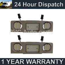 2X FOR VOLKSWAGEN PASSAT CC JETTA 48 WHITE LED FRONT INTERIOR ROOF COURTESY LAMP