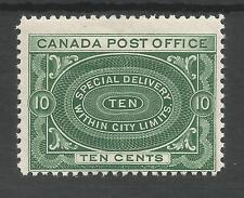CANADA SGS2 THE 1913 GV 10c DEEP GREEN FRESH MINT CAT £60