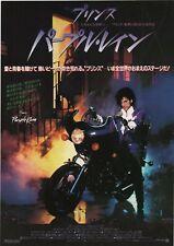 Purple Rain 1984 Prince Japanese Chirashi Movie Flyer Poster B5