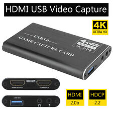 1080P HD HDMI Video Capture Card 4K USB 3.0 Screen Recorder Game HDTV Streaming