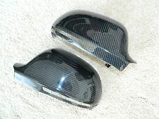 AUDI A3 A4 A5 A6 Q3 S3 S4 RS Carbon Spiegel Cover Spiegelkappen Mirror Housing