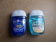 Bath and Body Works POCKETBACS Hand Sanitizer Mermaid Life & Mermaid Makes Waves
