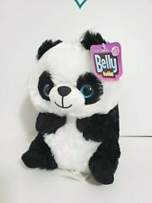 "NANCO BELLY BUDDIES BELLY PANDA BEAR PLUSH 7"" #PFBBP10 NWT"
