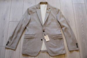 Hackett Mayfair Soft Cotton Jersey Fabric Sport Coat Blazer 40R BNWT