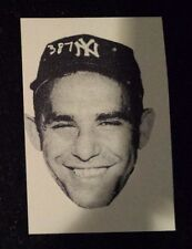 YOGI BERRA - NEW YORK YANKEES 1955 Sport Magazine Fan Club Mail In card