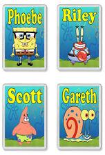 Personalised Spongebob Squarepants Fridge Magnet - Add any name *Great Gift*