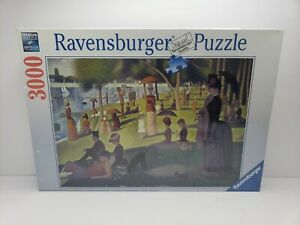 "Ravensburger 3000 pc Puzzle  #170777-""Seuart:Sunday Afternoon""-2013"