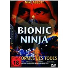 Bionic Ninja - Formel des Todes - Mike Abott - Action - DVD Sehr Guter Zustand