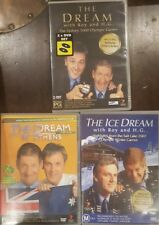 THE DREAM WITH ROY AND H.G. RARE DVD ATHENS OLYMPICS, SALT LAKE ICE, SYDNEY 2000