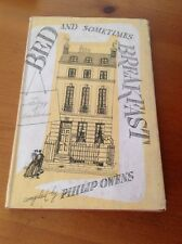 Bed and Sometimes Breakfast - An Anthology of Landladies , 1952 HB