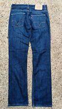 """LEVIS 511 Blue Stretch Denim Jeans Slim Fit  W:32"""" L:32"""""""