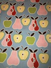 New listing 100% Cotton Quilting Fabric Apples And Pears By Alexander Henry By The Yard