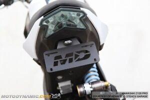 KAWASAKI Z125 FENDER ELIMINATOR TAIL TIDY LED PLATE LIGHT 2017 2019 2020 2021