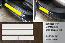 Lackschutzfolie transparent Einstiege Türen passgenau für Opel Astra J, 5-Türer