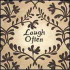 Art Print, Framed or Plaque by Linda Spivey - Laugh Often - LS838-R