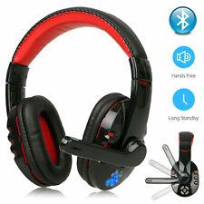 Bluetooth Wireless Gaming Headset w/Mic Headphone Headphones for Xbox PC PS4