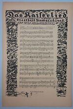 Erich zarraga (1889-1936) - el emperador canción, 1. WK-litografía