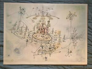 "Extremely Rare! ROWLAND EMETT ""Pussiewillow II"" Vintage Whimsical Kinetic Art"