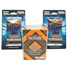 Yugioh Mystery Cube Legend of Blue Eyes White Dragon And Toon Chaos Single Pack