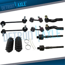 10PC Front Rear Sway Bars Tierods for 2006 2007 - 2009 Fusion MKZ Zephyr Milan