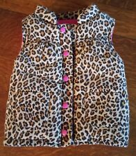 Clothing, Shoes & Accessories Carters Girls Size 3t Leopard Print Corduroy Puffy Vest Euc Baby & Toddler Clothing
