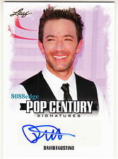 2015 POP CENTURY AUTO: DAVID FAUSTINO -AUTOGRAPH MARRIED WITH CHILDREN/ENTOURAGE
