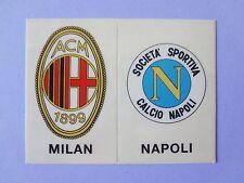 FIGURINA PANINI CALCIATORI SCUDETTO STICK STACK MILAN-NAPOLI 1988-89 NEW- FIO