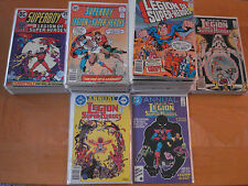 The Legion of Super-Heroes (DC Comics, Total 125 Issues, Published 1973-86)