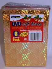 DVD Gift Boxes - Pack of 6 (Christmas/Gift Box)