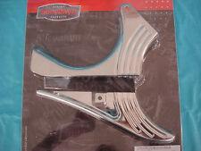 Harley Kuryakyn Chrome Softail Lower Belt Guard - Softail 00 to present