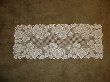 New Ivory Lace Leaf design table runner 36 x14