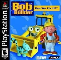 Used - BOB THE BUILDER Sony Playstation Game. PS1