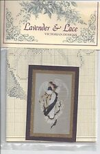 """Angel of Hope NEW Cross Stitch Lavender & Lace Victorian Designs Counted 10 1/2"""""""