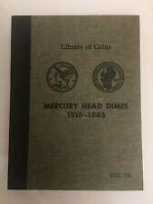 RARE LIBRARY OF COINS MERCURY HEAD DIMES 1916-1945