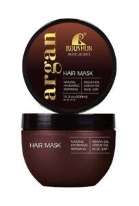 Natural Argan Oil Hair Mask Deep Conditioner Organic Green Tea Aloe Leaf 300 ML