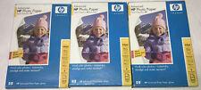 NEW HP Advanced Inkjet Photo Paper 4x6 Glossy Q6638A 3 Packs 300 Sheets