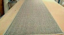 SISAL ECO FRIENDLY NATURAL WHIPPED MAT CARPET RUG/RUNNER 61cm x 286cm RRP £170