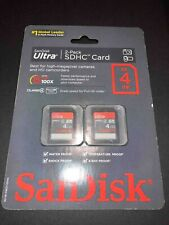 SanDisk Ultra SDHC 4GB Class 4 2-Pack (8GB Total)