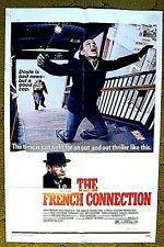 "a COP gone wild -- 'POPEYE' DOYLE -- ""THE FRENCH CONNECTION"" / 1971 poster 27x41"