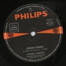 "JOHNNY CHESTER   Rare 1968 Aust Only 7"" OOP Philips Pop Single ""Green Green"""