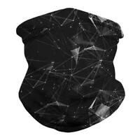 Geometrie Multifunktionstuch Schlauchschal Maske Motorrad Halstuch Bandana Mütze