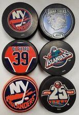 NHL - New York Islanders 6 Puck Set