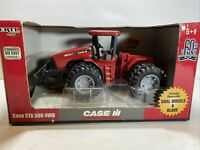 2005 RC2 ERTL 1:32 Case IH STX 500 4WD Tractor with dual wheels & blade #14388
