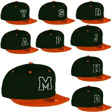 Jugend Kinder Erwachsene Größe Snapback Flach Orange Peak Hut Baseball Jungen