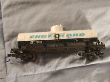 Vintage HO Life-Like Engelhard Single Dome Tanker Car ACFX 78484