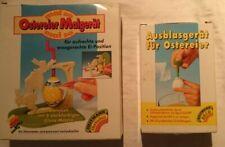 Ostereier Malgerät (ohne Farben) + Ausblasgerät Ostern Eier färben