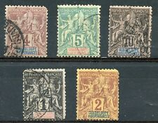 TIMBRE  COLONIES FRANCAISES / GUADELOUPE / OBLITERE LOT 2° CHOIX