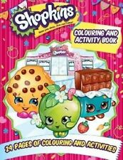 Shopkins Colouring and Activity Book by Scholastic Australia (Paperback, 2016)